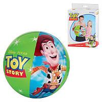Детский надувной мяч История Игрушек 61см, 58037