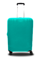 Чехол для чемодана  Coverbag микродайвинг L мята