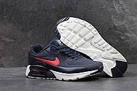Кроссовки мужские Nike Air Max 1 Ultra Moire SD-4016 Темно синие с красным