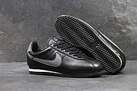 Кроссовки женские Nike Cortez SD1-4039 Черные с серым