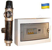 Электродный котел ЭВН-ЮТЦ 10/380 с блоком управления