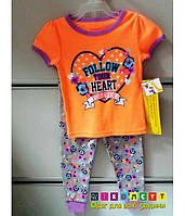 Пижама Детская Garanimals  на девочку с Коротким рукавом