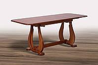 Стол обеденный раскладной Агат 1300(+550)х750х750 (орех темный)