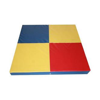 Спортивный мат для детей 100х80х5 см, фото 2