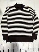 Свитер полоска, полосатый свитер, свитер тёплый, красивый свитер, кофта полоска, вязанный свитер