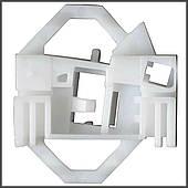 Механизм стеклоподъемника фиксатор скрепка задняя левая дверь Skoda, Seat, Volkswagen (Rear L)