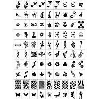 Трафареты-наклейки для ногтей №2