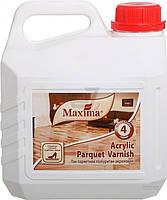 Лак паркетный Acrylic Parquet Varnish Maxima глянец 2,5 л прозрачный