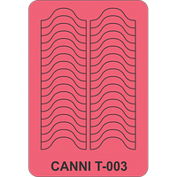 Трафарет для маникюра Т-003