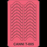 Трафарет для маникюра Т-005