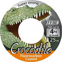 Леска Jaxon Crocodile Fluorocarbon Coated 25м 0,08
