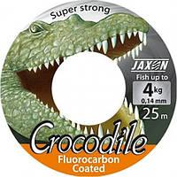 Леска Jaxon Crocodile Fluorocarbon Coated 25м 0,08