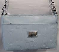 fd53107e2471 Женская кожаная сумка 952 голубой Женская кожаная сумка, кожаный женский  клатч