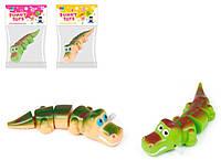 Крокодил, заводной, ползает,  8062A