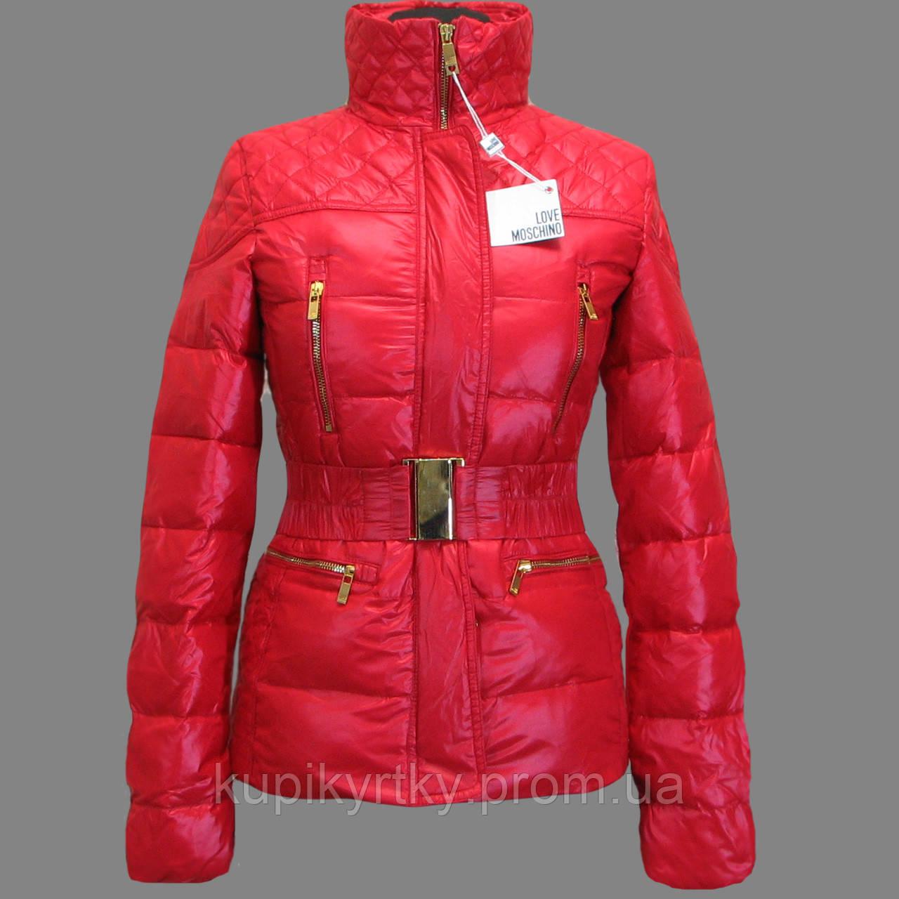"Демисезонная куртка"" Love Moschino"""