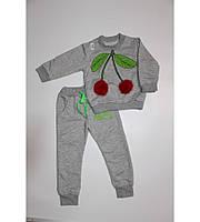 Костюм детский демисезонный для девочки Вишенка 1-6лет