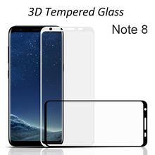 Защитное стекло 3D для телефона Samsung Note 8 - N950