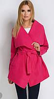Стильное женское кашемировое пальто - кардиган на запах, демисезонное, оптом и в розницу