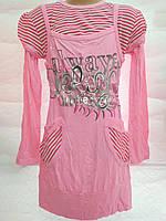 Детская- подростковая нарядная туника-платье для девочки Delih