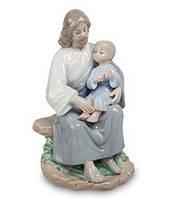 """Фарфоровая статуэтка """"Наставления Христа"""" (Pavone) JP-40/16 . Пасхальные сувениры"""