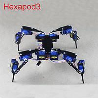 DiY четыре фута hexapod3 12 степенями свободы мини RC четвероногим робот с сервоприводом