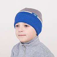 Модная весенняя шапка для мальчика - Арт 0932
