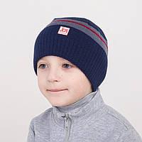 Весенняя шапка для мальчика от производителя - Арт 1189