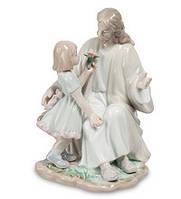 """Фарфоровая статуэтка """"Наставления Христа"""" (Pavone) JP-40/15"""