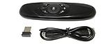 Бездротова клавіатура, пульт, аеро миша+клавіатура. Air mouse. Пульт для Смарт ТВ, гіроскоп. English., фото 3