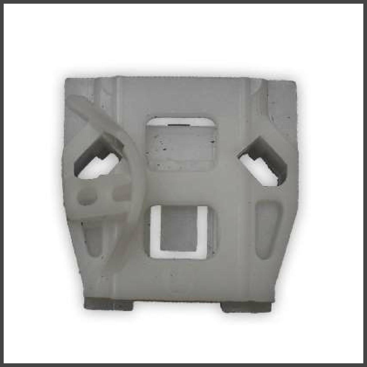Механізм склопідіймача фіксатор скріпка передня ліва двері Volkswagen, Seat, Peugeot (Front L)