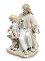 """Фарфоровая статуэтка """"Наставления Христа"""" (Pavone) JP-40/14. Пасхальные сувениры"""