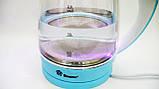Электрочайник Domotec MS-8214 чайник стекло  2200Вт 2Л  LED подсветка, фото 6