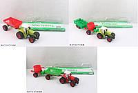 Трактор игрушечный инерционный, 15см, 0488-26456