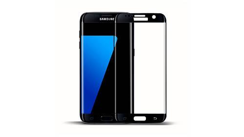 Защитное стекло 3D для телефона Samsung S7 (G930) - черный