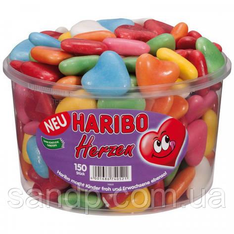 Желейные конфеты Сердечки Безе   Харибо Haribo 1050гр. 150шт., фото 2