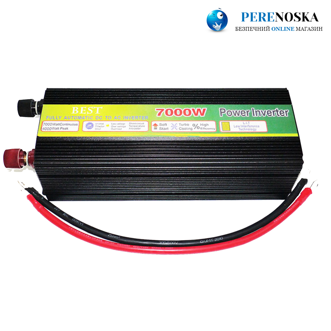 Автомобильный инвертор 7000W 12V-220V