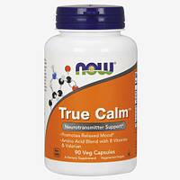 Специальная пищевая добавка для спортсменов Now Foods True Calm (90 капс.)