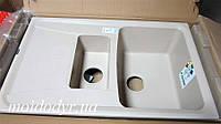 Гранитная кухонная мойка Plados Aros 15 (45-met. biege), фото 1