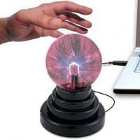 Ночник плазменный шар Magic Flash Ball. Светильник