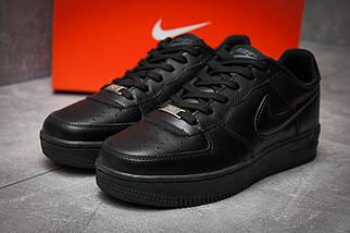Кроссовки мужские Nike  Air Force, черные , фото 2