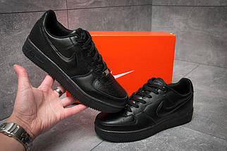 Кроссовки мужские Nike  Air Force, черные , фото 3