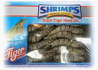 Креветка тигровая сырая с головой 21-30