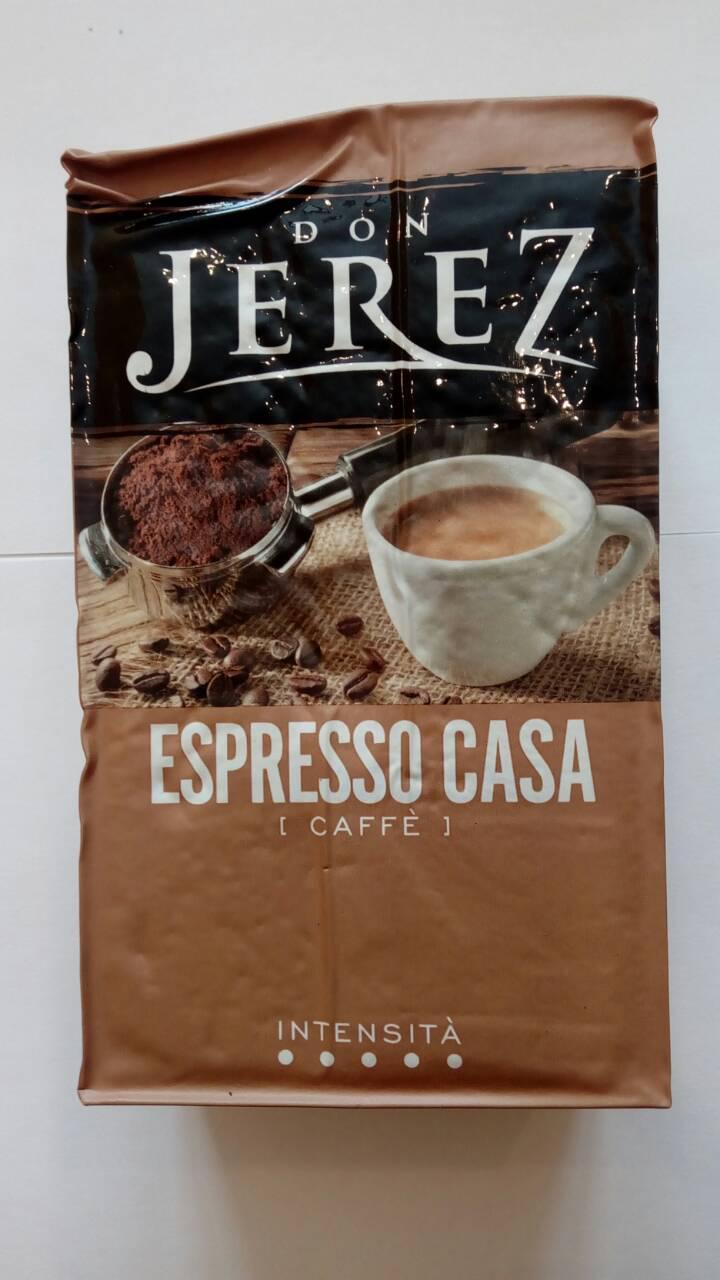 Молотый кофе Don Jerez Espresso Casa250 гр