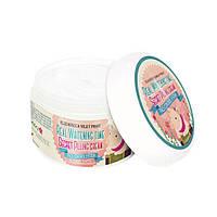 Осветляющий крем с эффектом пилинга ELIZAVECCA Milky Piggy Real Whitening Time Secret Pilling Cream, 100 мл