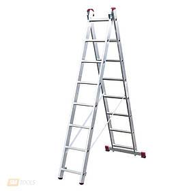 Лестница 2-х секционная TRITON 02-110 (8 ступ.)