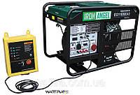 Генератор бензиновый (10 кВт) IRON ANGEL EG 11000 EA3 + блок автоматики