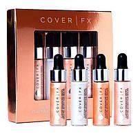 Набор жидких хайлайтеров Cover FX 4x4.5ml