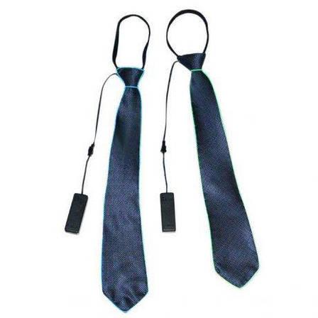 Светодиодный Led El галстук светящийся галстук для вечеринок, пати, фото 2