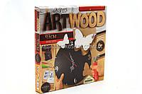 Набор для креативного творчества Danko toys ArtWood. Настенные часы LBZ-01-03