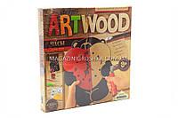 Набор для креативного творчества Danko toys ArtWood. Настенные часы LBZ-01-05